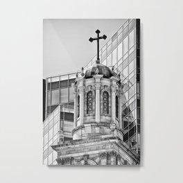 Cross 2 Metal Print