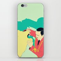 circus iPhone & iPod Skins featuring Circus by ministryofpixel