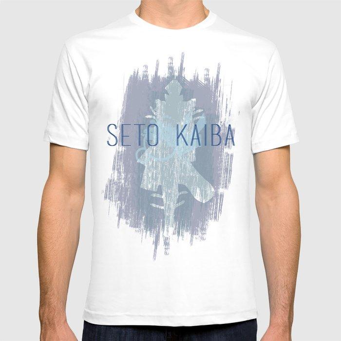 fd89d44726 Minimal Seto Kaiba Print T-shirt by killmewithcards