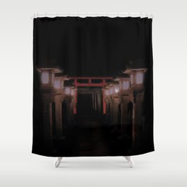 The Light Within (Kyoto, Japan) Shower Curtain