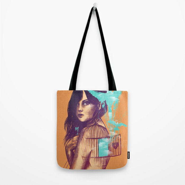 We Must Be Free Tote Bag