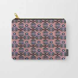 Butterflies and Dots Carry-All Pouch