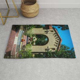 Courtyard Fountain Rollins College Winter Park Central Florida Orlando Rug