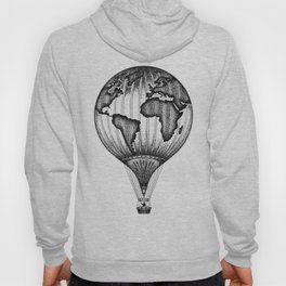 EXPLORE. THE WORLD IS YOURS. (No text) Hoody