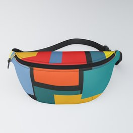Color Blocks #8-2 Fanny Pack