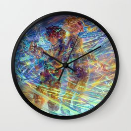 Deku + All Might!! Wall Clock