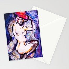 NU BLEU  Stationery Cards