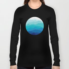 Blue Mist Mountains Long Sleeve T-shirt