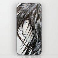 no face iPhone & iPod Skins featuring Face by rchaem