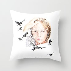 Let slip Throw Pillow