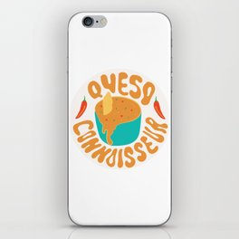 Queso Connoisseur iPhone Skin