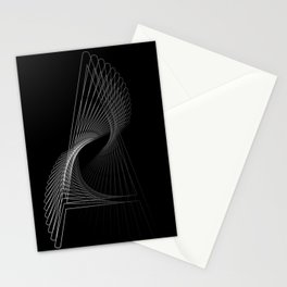 """""""Fly Collection"""" - Abstract Minimal Letter A Print Stationery Cards"""
