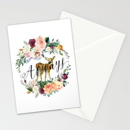 Always - Fawn Stationery Cards