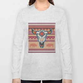 American Native Pattern No. 105 Long Sleeve T-shirt