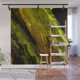 Camouflage Shooting Star Wall Mural