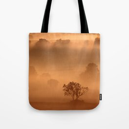 """""""Dawn"""" whispered the mist Tote Bag"""