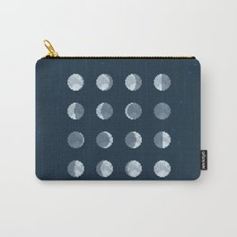 8bit Moon Phases Carry-All Pouch