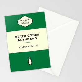 Agatha Christie - Death Comes As The End Stationery Cards