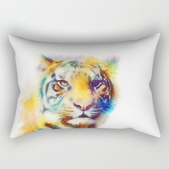 The Elusive - Tiger Rectangular Pillow