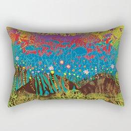 Mother Earth - nature landscape Rectangular Pillow