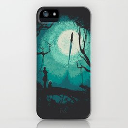 After Cosmic War iPhone Case