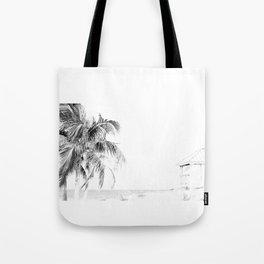 Lifeguard House Tote Bag