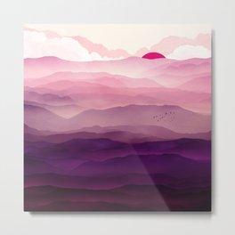 Ultra Violet Day Metal Print