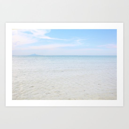 Long time no sea Art Print