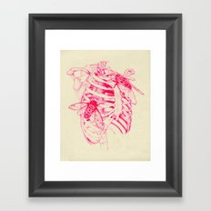 collarbone Framed Art Print