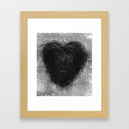 heart of love Framed Art Print