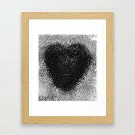heart of love Framed Art Print