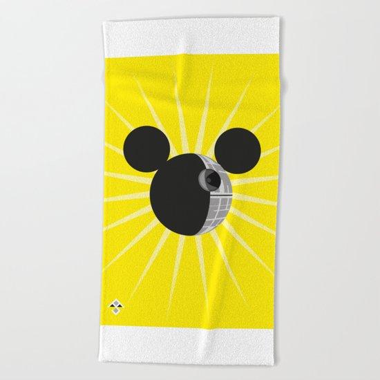 The New Death Star Beach Towel