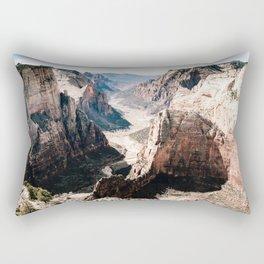 Zion Canyon National Park Rectangular Pillow