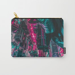 Cyberpunk Mask Carry-All Pouch