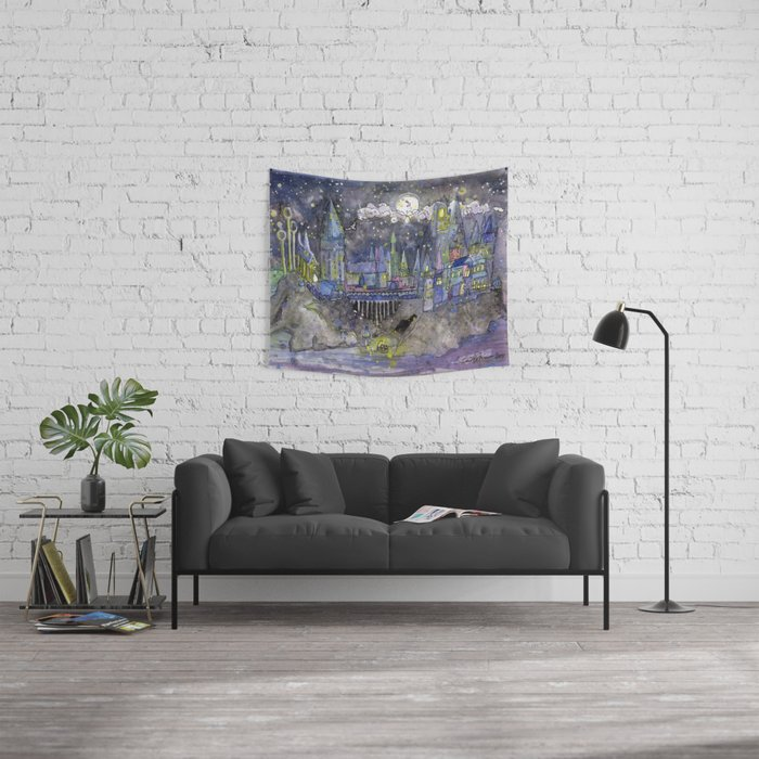 Hogwarts Castle Wall Tapestry