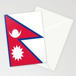 Flag of Nepal Stationery Cards