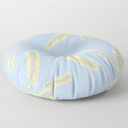 cascata celeste Floor Pillow