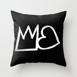 Arits/Jordan E. Brooks/We can all be Queens and Kings Throw Pillow