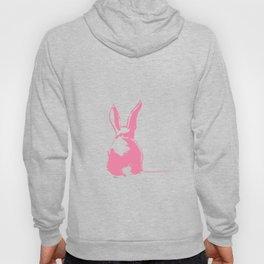 Pink Easter bunny back Hoody