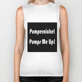 Pumpernickel Pumps Me Up Biker Tank