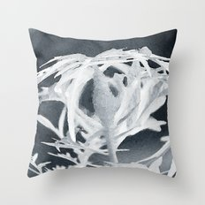 In here and out there Throw Pillow