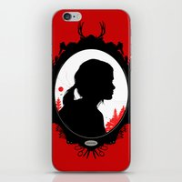 ellie goulding iPhone & iPod Skins featuring Ellie by Duke Dastardly