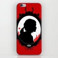ellie goulding iPhone & iPod Skins featuring Ellie by Duke Dastardly