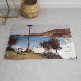 Tom Roberts Holiday Sketch at Coogee Rug