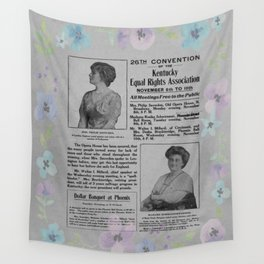 26th Convention of the Kentucky Equal Rights - 1900 Wall Tapestry