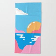 Our Sunset Beach Towel