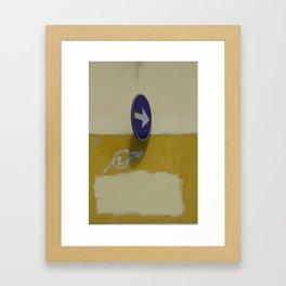 Accidental Rothko Framed Art Print