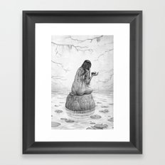 Nymph Framed Art Print