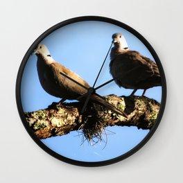 Lovey Dovey Wall Clock