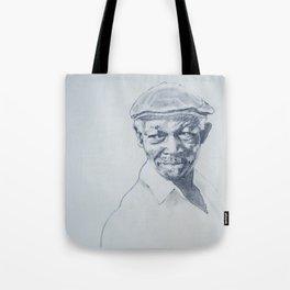 Ibrahim Ferrer de mi corazón Tote Bag